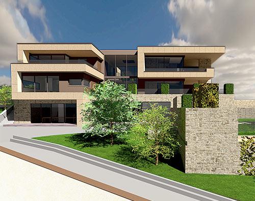 Aktuelle projekte von domani massivhaus domani massivhaus for Modernes haus projekte